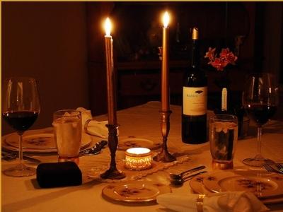 2012 settembre milano notte magazine - Cena romantica con velas ...